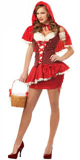 Red Riding Hood Halloween Costumes Eye Candy Red Riding Hood Costume 00997 Fancy Dress Ball