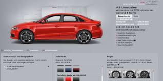 audi configurater audi a3 sedan s3 s3 sportback now live on audi de configurator