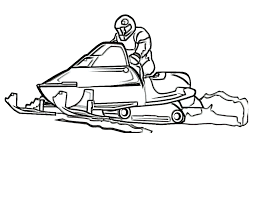 print coloring snowmobile coloring pictures m coloring pages