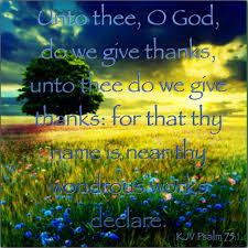 kjv bible verse psalm 75 1 bible verses bible