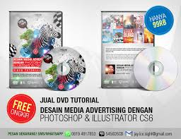 Jual Tutorial Illustrator | dvd tutorial photoshop illustrator desain media advertising