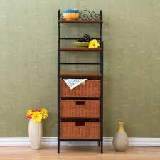 Cheap Bakers Racks Kitchen Contemporary Bakers Racks For Your Kitchen And Dining