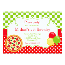 pizza theme birthday gifts on zazzle