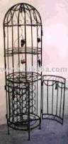 round wrought iron wine rack rwr 007 buy wine rack wood