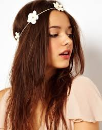 headband floral flowers in hair unsweetened