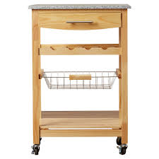 Crosley Furniture Kitchen Cart Kitchen Cart Granite Top Home Styles Create A Cart Natural