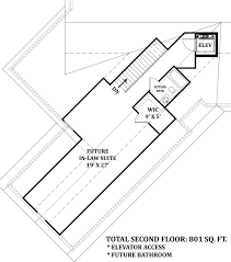 House Plans With Elevators Mayberry Place 4673 3 Bedrooms And 2 Baths The House Designers