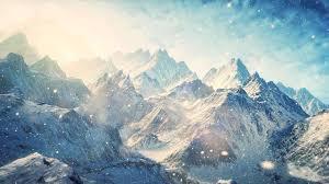 Mountain Landscape Paintings by Women Nature Landscape Clouds Artwork Women Snowy Mountain