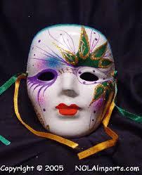 mardi gras ceramic masks large green eyed ceramic mardi gras mask mardi gras masks