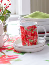 poinsettia tablecloth linens kitchen tablecloths beautiful