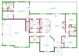 Split Floor Plan House Plans by Side Split House Plans With Garage Arts