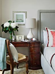 Bedroom Furniture Ideas For Small Spaces 9 Nightstand Alternatives For Small Bedrooms Hgtv U0027s Decorating
