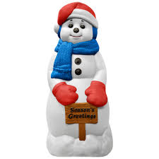 Outdoor Lighted Snowman Decorations by Trim A Home 31
