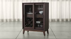 Bar Cabinet For Sale Steppe Bar Cabinet Crate And Barrel