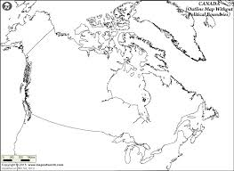 map of us and canada blank geography blank map of canada