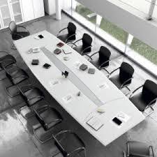 White Gloss Meeting Table China High Quality Modern High Gloss White Artifiical Marble Smart