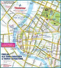 Bangkok Map Of Siam
