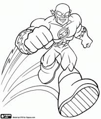 flash printable coloring pages coloring