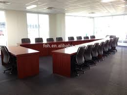australia large training room table v shaped conference table