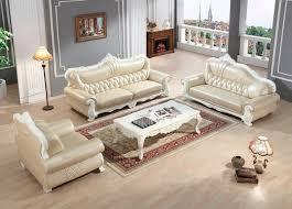 ensemble canape cuir européenne canapé en cuir ensemble salon canapé chine cadre en