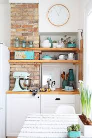 kitchen wall pictures kitchen gold and black kitchen with exposed brick walls 20