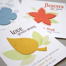 seed favors that grows plantable seed paper favor eco friendly wedding
