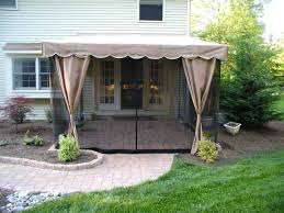 Retractable Awning For Deck Mosquito Enclosures For Decks