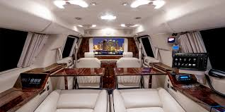 2015 cadillac escalade esv interior becker automotive design luxury transport coaches sprinter