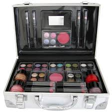 cosmetic vanity case 50 piece beauty train box make up gift set