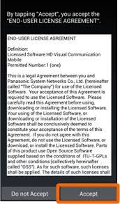 android license installation guide of hdvc mobile for android hdvc mobile