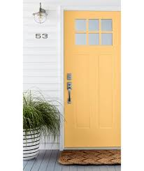 yellow front door 4 ways to give your front door a face lift real simple