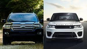 toyota land cruiser sport 2016 toyota land cruiser vs 2016 range rover sport