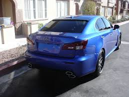 lexus isf blue iwillownu82 2009 lexus is f specs photos modification info at