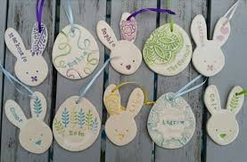 Easter Decorations Tree personalised easter decorations maple tree pottery