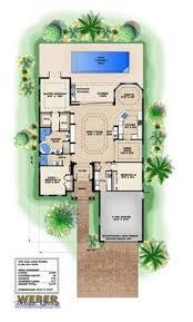 Antilla Floor Plan Little Abaco House Plan Narrow Lot House Plans By Weber Design