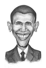 barack obama by gartoon famous people cartoon toonpool