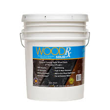 Longest Lasting Cedar Deck Stain by Woodrx 5 Gal Weathered Gray Solid Wood Stain And Sealer 600535