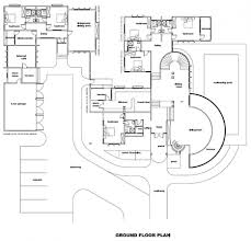 Large Home Floor Plans by Modern Luxury Home Floor Plans With Design Gallery 35358 Kaajmaaja