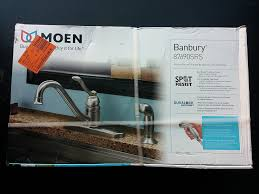 Buy Kitchen Faucet Moen 87690srs Kitchen Faucet With Side Spray From The Banbury