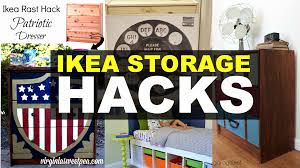 ikea garage storage hacks creative ikea storage and furniture hacks