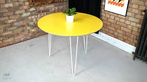 round hairpin coffee table roundhairpindiningtable jpg