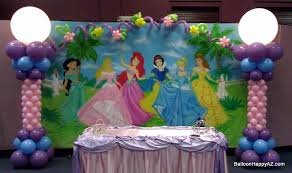 Princess Party Decorations Princess Party Balloon Decorations