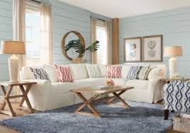 Rooms To Go Living Room Furniture by Cindy Crawford Home Beachside Ii Natural 2 Pc Sectional Living