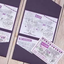 pocketfold world map personalised wedding invitation by lovely