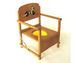 Potty Seat Or Potty Chair Child U0027s Potty Seat Wood Vintage Baby Portable By Lauraslastditch