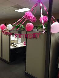 Ideas For Decorating An Office Best 25 Cubicle Birthday Decorations Ideas On Pinterest Office