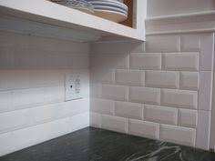 Emser Tile With Schluter Edge To Finish It Off Nicely How To End - Backsplash trim ideas