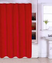 Die Duschvorhang Frage Duschvorhang In Rot Online Kaufen Otto