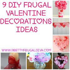 valentines home decor 9 diy frugal valentine decor ideas pretty frugal diva