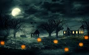 halloween haunted house wallpapers